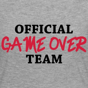 Official game over team Langærmede T-shirts - Dame premium T-shirt med lange ærmer