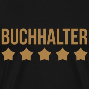 Accountant / Accounting / Buchhalter / Comptable T-Shirts - Men's Premium T-Shirt