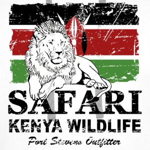Lion - Safari Kenya Wildlife Hoodies & Sweatshirts - Men's Premium Hoodie