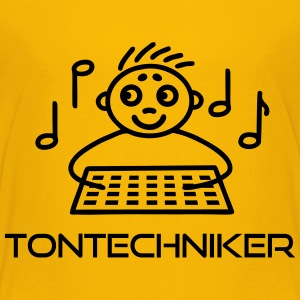 Tontechniker am Mischpult T-Shirts - Teenager Premium T-Shirt