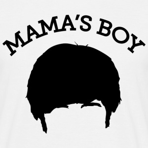 The Big Bang Theory Mama`s Boy Tee shirt Homme - T-shirt Homme
