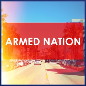 ARMED NATION BAG - Stoffbeutel
