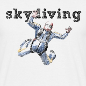 skydiver T-shirts - Mannen T-shirt