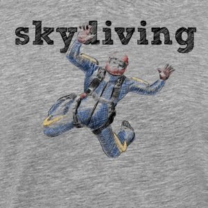 skydiver Tee shirts - T-shirt Premium Homme