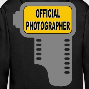 official photographer 03 Sweat-shirts - Sweat-shirt à capuche Premium pour hommes