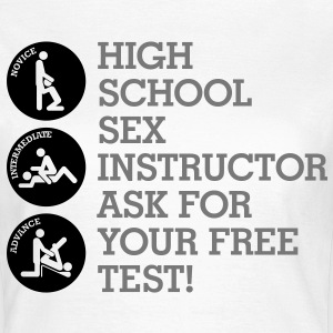 Sex teacher offers free trial lesson T-Shirts - Women's T-Shirt