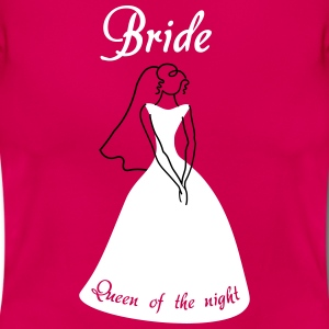 Bride Queen of the night T-Shirts - Frauen T-Shirt