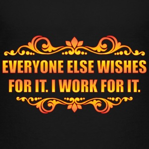 Everyone Else Wishes Shirts - Teenage Premium T-Shirt