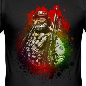CombatTeam by CS Tee shirts - Tee shirt près du corps Homme