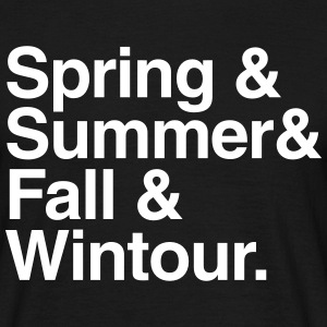 Spring & Summer & Fall & WIntour T-Shirts - Men's T-Shirt