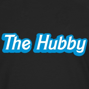 The HUBBY (Husband wife funny) Long sleeve shirts - Men's Premium Longsleeve Shirt