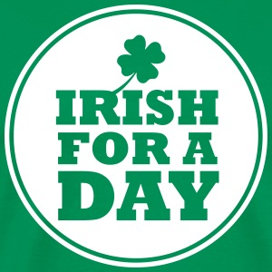 IRISH FOR A DAY - FUN T-shirts - Mannen Premium T-shirt