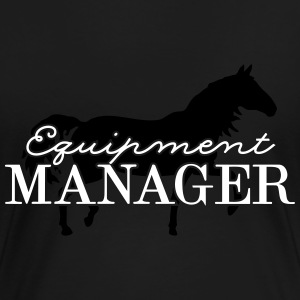 Equipment Manager Pferd 2C T-Shirts - Frauen Premium T-Shirt
