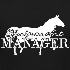 Equipment Manager Pferd T-Shirts - Männer Premium T-Shirt