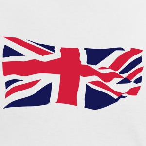 British Flag - Women's Ringer T-Shirt