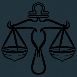 Sign Libra Horoscope T-Shirts - Men's T-Shirt
