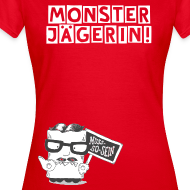 Motiv ~ T-Shirt Monsterjägerin