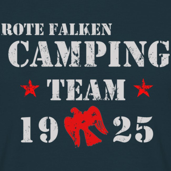 """T-Shirt """"Camping Team"""" (male)"""
