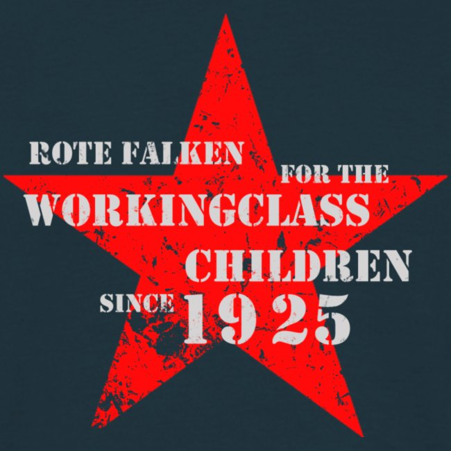 """T-Shirt """"For the Workingclass Children"""" (male)"""