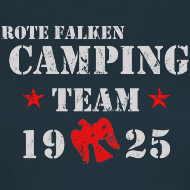 "T-Shirt ""Camping Team"" (female)"