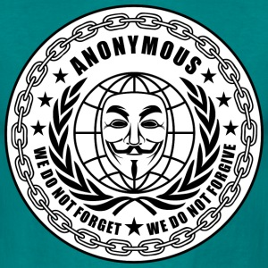 anonymous we do not forget Tee shirts - T-shirt Homme