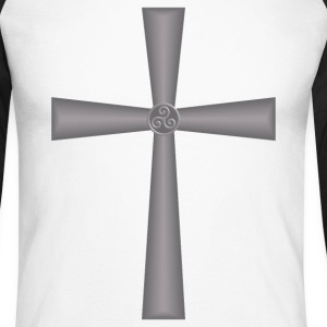 celtic cross Manches longues - T-shirt baseball manches longues Homme