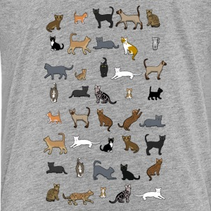 All cats Shirts - Teenager Premium T-shirt