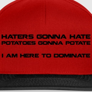 Haters Gonna Hate - snapback cap - Snapback Cap