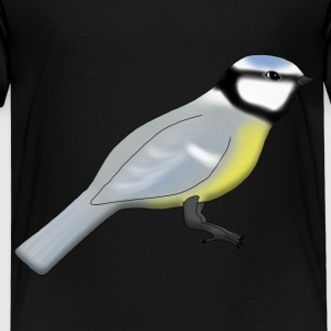 Blue tit Skjorter - Premium T-skjorte for barn