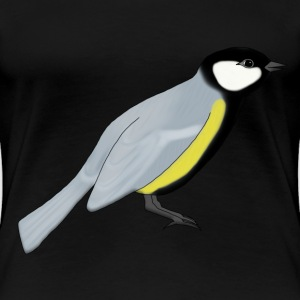 Great tit T-skjorter - Premium T-skjorte for kvinner
