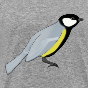 Great tit T-Shirts - Men's Premium T-Shirt