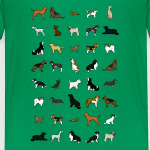 All dogs Tee shirts - T-shirt Premium Enfant