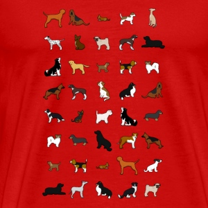 All dogs Tee shirts - T-shirt Premium Homme
