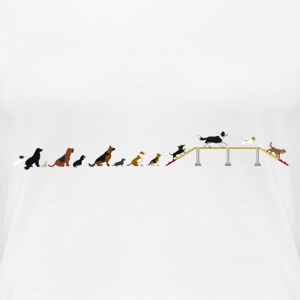 Agility bridge latency T-shirts - Premium-T-shirt dam