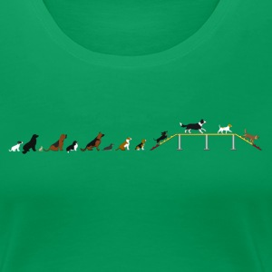 Agility bridge latency T-Shirts - Women's Premium T-Shirt