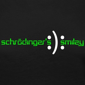schrödinger smiley Long Sleeve Shirts - Women's Premium Longsleeve Shirt