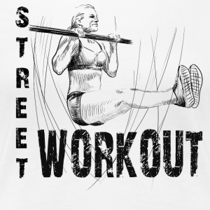 street workout girl T-shirts - Premium-T-shirt dam
