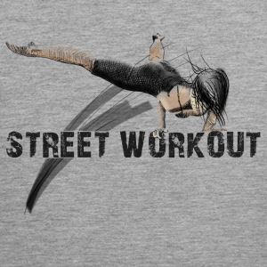 street workout girl Tank Tops - Men's Premium Tank Top