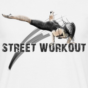street workout girl Tee shirts - T-shirt Homme