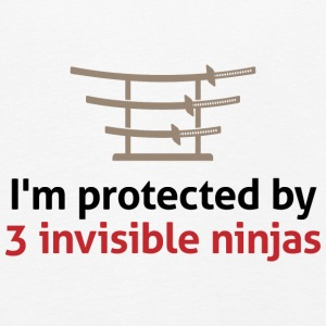I am protected by invisible ninjas! Long Sleeve Shirts - Kids' Premium Longsleeve Shirt