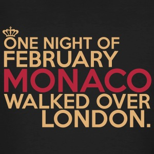 Monaco walked over London Tee shirts - T-shirt bio Homme