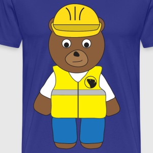 Builder Bear T-Shirt - Men's Premium T-Shirt
