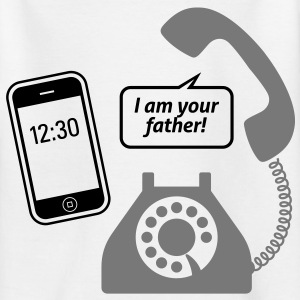 Smartphone, jeg er din far! T-shirts - Teenager-T-shirt