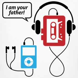 MP3 player, I am your father! T-Shirts - Men's Organic T-shirt