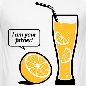Lemonade, jag är din far! T-shirts - Slim Fit T-shirt herr