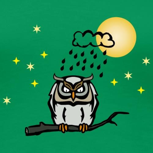 Eule Vollmond nightowl Regen Nightmare