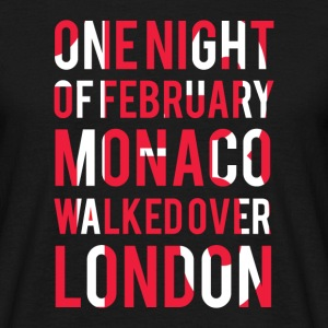 Monaco walked over London Tee shirts - T-shirt Homme