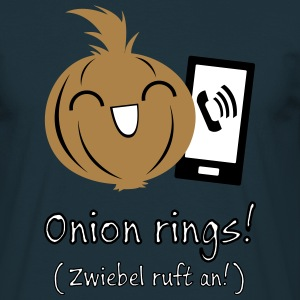 Onion rings - Männer T-Shirt