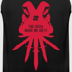 Leaether Strip - The Devil Made Me Do It : Muscle  - Männer Premium Tank Top