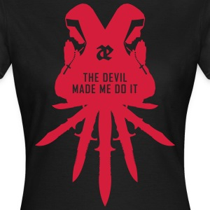 Leaether Strip - The Devil Made Me Do It : Girlie  - Frauen T-Shirt